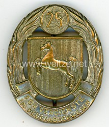 Niedersächsisches Feuerwehr-Ehrenzeichen für 25 Jahre Dienstzeit