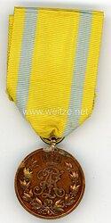 Sachsen Königreich Friedrich-August Medaille in Bronze am Kriegsband .
