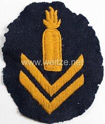 Kaiserliche Marine Ärmelabzeichen für einen Exerziermeister/Geschützführer