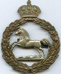 Königreich Hannover Tschakobeschlag für Mannschaften im 1. (Leib-) Regiment .