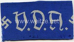 III. Reich V.D.A. Verein des Deutschtum im Ausland : Armbinde