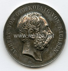 Sachsen Königreich Nicht tragbare Medaille