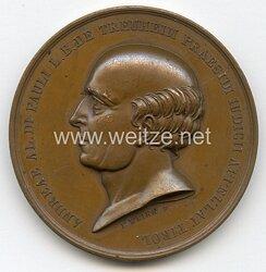 Österreich / K.u.K. Monarchie Nicht tragbare Gedenk-Medaille an den Freiherrn Joseph die Pauli, Edler zu Treuheim anlässlich seines Todes 1839 .