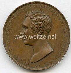 Preussen Nicht tragbare Erinnerungs-Medaille anlässlich des 50. Dienstjubiläums des Freihernn zu Wylich 1834 .
