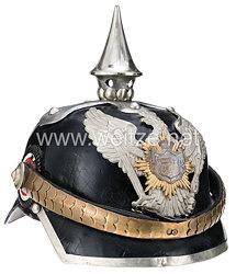 Oldenburg Pickelhaube für einen Wachtmeister im Dragoner-Regiment Nr. 19