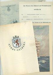 Kriegsmarine - Dokumentengruppe eines Angehörigen der 4. Torpedobootsflottille