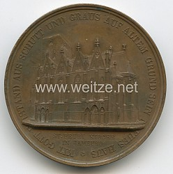 "Nicht tragbare Medaille ""St. Petri Kirche in Hamburg"""