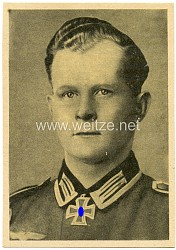 Heer - Propaganda-Postkarte von Ritterkreuzträger Unteroffizier Brüggemann