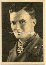 Heer - Propaganda-Postkarte von Ritterkreuzträger Oberwachtmeister Pfreundtner