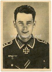 Heer - Propaganda-Postkarte von Ritterkreuzträger Oberfeldwebel Reinhardt