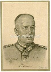 Heer - Propaganda-Postkarte von Ritterkreuzträger Generaloberst Dollmann