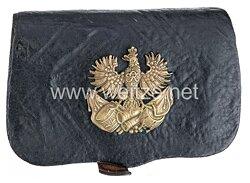 Preußen Kartuschkasten für Offiziere im Kürassier-Regiment Königin (Pommersches) Nr. 2