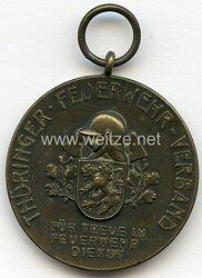 III. Reich / Thüringer Feuerwehr Verband Feuerwehr-Ehrenzeichen, 1935