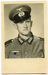 Wehrmacht Portraitfoto, Angehöriger eines Infanterie-Regiment