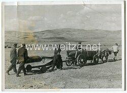 Luftwaffe Pressefoto, Fliegerbomben werden zu den Flugzeugen transportiert