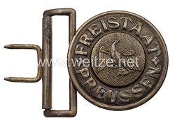 Freistaat Preussen Feldbindenschloss für Offiziere der Kommunal - und Wasserschutzpolizei