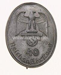 Reichsnährstand Ehrenzeichen für 40 Jahre Treue Dienste