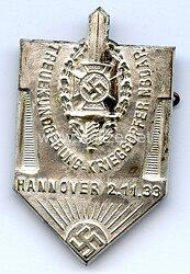 NSKOV - Treuekundgebung Kriegsopfer NSDAP Hannover 2.11.1933