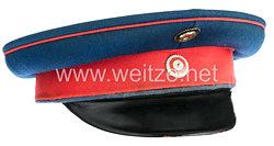 Hessen Schirmmütze für einen Offizier in einem Infanterie-Regiment
