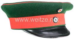 Preußen Schirmmütze für Mannschaften und Unteroffiziere der Jäger-Bataillone