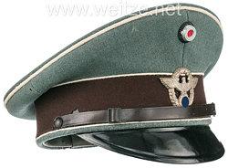 Polizei III. Reich Schirmmütze für Mannschaften der Motorisierten Straßenpolizei