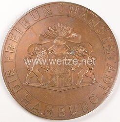 """III. Reich - Die Freie und Hansestadt Hamburg """" Medaille für treue Arbeit im Dienste des Volkes """""""