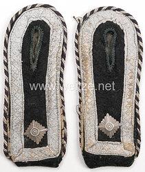 Waffen-SS Paar Schulterstücke für einen SS-Oberscharführer der Panzerpioniere