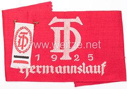 """Deutsche Turnerschaft Armbinde für Teilnehmer """"Hermannslauf 1925"""""""