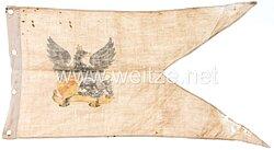 Baden Lanzenflagge für einen Unteroffizier im 1. Badischen Leib-Dragoner-Regiment Nr. 20, 5. Eskadron