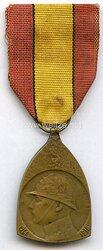 Belgien Erster Weltkrieg Medaille Commemorative de la Campagne 1914 - 1918