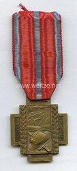 Belgien Erster Weltkrieg Medaille Croix du Feu