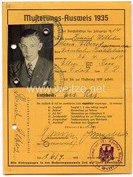 III. Reich - Musterungs-Ausweis 1935