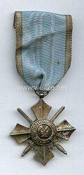 Bulgarien 2. WeltkriegMilitär-Verdienstorden V. Klasse mit Schwertern.