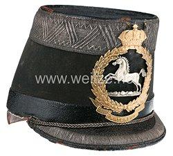 Königreich Hannover Tschako für Subalternoffiziere der Linien-Infanterie-Regimenter