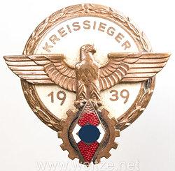Kreissieger im Reichsberufswettkampf 1939