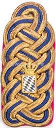 Bayern Einzel Schulterstück für einen Senatspräsident am Militärgericht