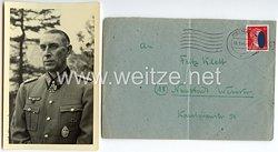 Heer - Originalunterschrift von Ritterkreuzträger Generaloberst Rudolf Schmidt