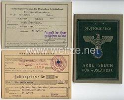 III. Reich - Arbeitsbuch für Ausländer