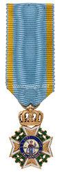 Sachsen Königreich Militär St.-Heinrich Orden - Ritterkreuz