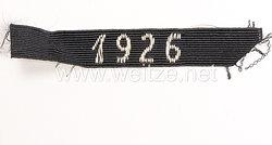 """NSDAP Verdienstabzeichen """"1926"""""""