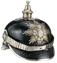 Königreich Sachsen Polizei: Pickelhaube für einen Mannschaften der Königlichen Landgendarmerie
