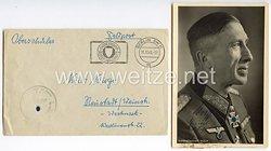 Heer - Originalunterschrift von Ritterkreuzträger Generalleutnant Ludwig Wolff