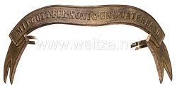 Preußen Bandeau für Offiziere Pelzmütze Husaren
