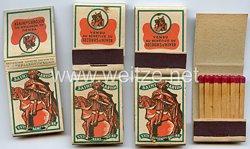 WHW - Belgien - WHN Winterhulp - 4 x Streichholzbriefchen Saint Martin