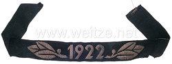 """Technische Nothilfe Traditionsärmelband """"1922"""""""