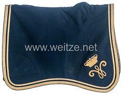 Braunschweig Paradeschabracke (Satteldecke) für berittene Offiziere im Braunschweigischen Infanterie-Regiment Nr. 92