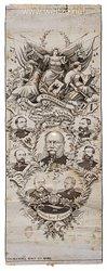 Preußen Patriotika aus der Zeit des Deutsch-Französischen Krieges 1870/71