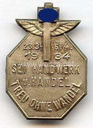 "III. Reich - NS.-Hago - "" Treu ohne Wandel sei Handwerk u. Handel "" 23.3.-6.4.1934"