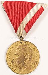 Kroatien, Ante Pavelic bronzene Tapferkeitsmedaille 1941