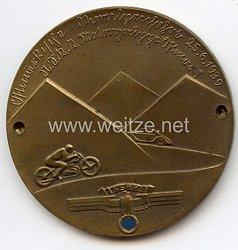 """NSKK - nichttragbare Teilnehmerplakette - """" Motorgruppe Ostmark - Ostmärkische Voralpenfahrt 25.6.1939 """""""